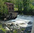 Collinsville, Farmington River spillway.jpg