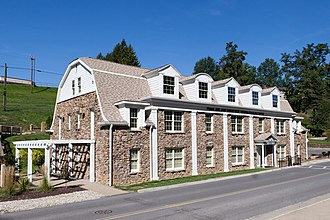 National Register of Historic Places listings in Marion County, West Virginia - Image: Colonial Apartments Fairmont WV