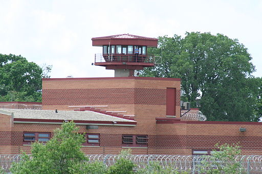 Columbia Correctional Institution Wisconsin with guard tower