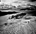Columbia Glacier, Calving Terminus, Columbia Bay, Heather Island, September 25, 1981 (GLACIERS 1430).jpg