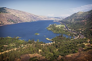 Columbia River River in the Pacific Northwest of North America