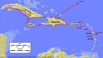 Voyages of Christopher Columbus - Columbus's second voyage