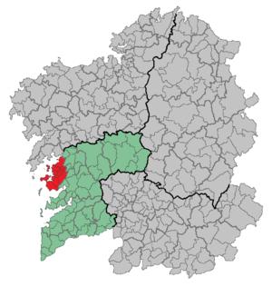 O Salnés - Image: Comarca Salnés