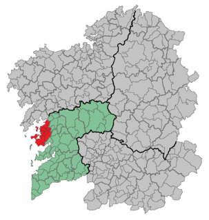O Salnés Comarca in Galicia, Spain