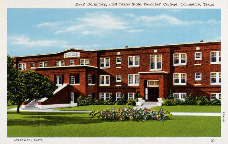 File:Commerce TX - Boys' Dormitory, East Texas State Teachers' College (NBY 430780).jpg