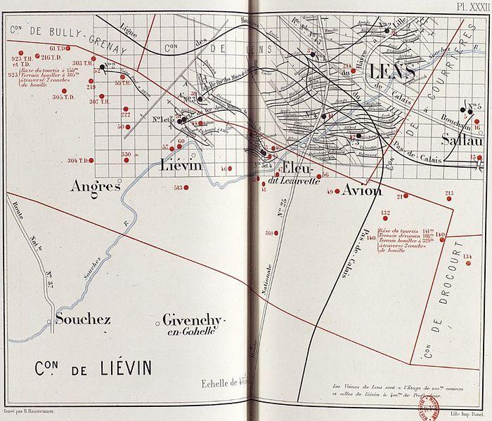 Fichier:Compagnie des mines de Liévin - État des travaux vers 1880.jpg