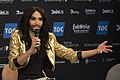 Conchita Wurst, ESC2014 Meet & Greet 13 (crop).jpg