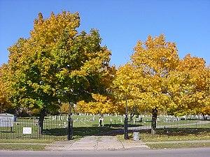 Concordia Cemetery (Buffalo, New York) - The entrance to Concordia Cemetery