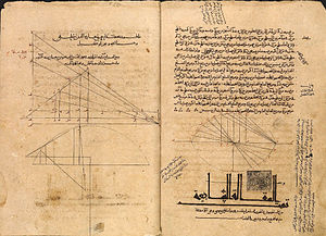Thābit ibn Qurra - Pages from Thābit's Arabic translation of Apollonius' Conics