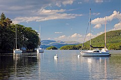 Coniston South Moorings - geograph.org.uk - 2036207.jpg