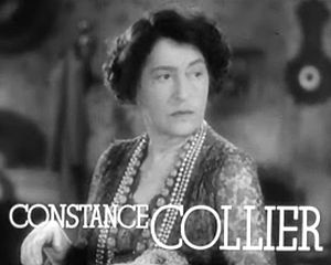 Constance Collier - from the trailer for Stage Door (1937)