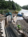 Construction of a fish pass at Blackweir - geograph.org.uk - 1462088.jpg