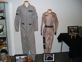 Contact (1997 American film) - Uniforms from the film at Stockholm International Fairs 2011