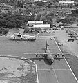 Contract helicopters are parked at the Dili airfield.jpg
