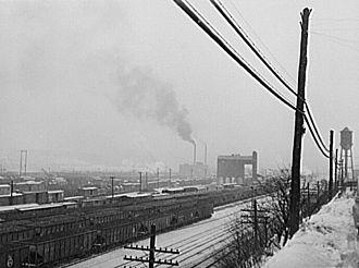 Conway Yard - Conway Yard in 1941