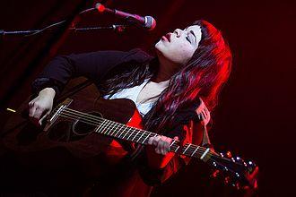 Samantha Crain - Crain in concert in LA at the Wiltern