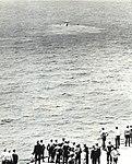 Crashed Grumman C-1A Trader off USS Hornet (CVS-12), in 1967.jpg
