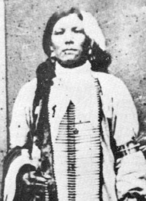 Battle of the Rosebud - An alleged photograph of Crazy Horse, although its authenticity is doubtful
