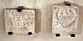 Cripta di san lorenzo, lapide martelli e stemma.JPG
