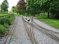 Crossover on Swanley New Barn Railway - geograph.org.uk - 1280434.jpg