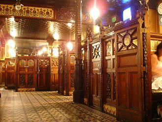 Crown Liquor Saloon - Interior of the bar.