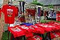 Crysau Pêl-droed Ffair Cricieth - Criccieth Fair Football Shirts - geograph.org.uk - 813905.jpg