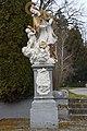 Csákánydoroszló, Nepomuki Szent János-szobor 2021 03.jpg