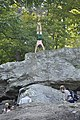 Cunningham Falls State Park - hand-stand - 1.JPG
