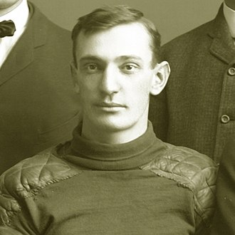 Curtis Redden - Curtis Redden cropped from 1903 Michigan football team photograph