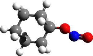 Cyclohexyl nitrite - Image: Cyclohexyl nitrite 3d structure
