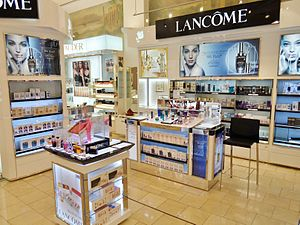 Lancôme - Lancôme counter at DFS Galleria Customhouse in Auckland, New Zealand