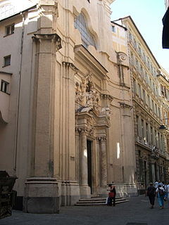 San Filippo Neri, Genoa church building in Genoa, Italy