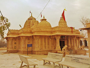 Nagaur - Dadhimati Mata Temple in Nagaur district, Rajasthan,