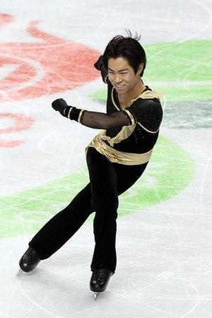 Daisuke Murakami (figure skater) - Daisuke Murakami at 2010 Skate America  photo by David Carmichael