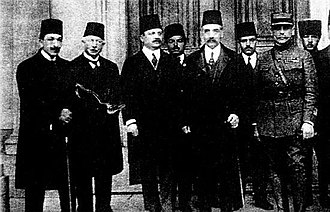 Damat Ferid Pasha - Liberals Damat Ferid Pasha and Ali Kemal Bey (on the right) both opposed Ottoman entry into World War I.
