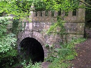 Sapperton Canal Tunnel - Daneway portal – Sapperton Tunnel