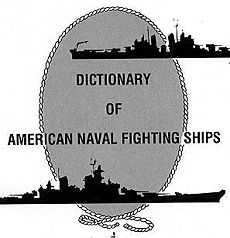 Logo de Dictionary of American Naval Fighting Ships