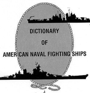 Dictionary of American Naval Fighting Ships - Image: Danfs