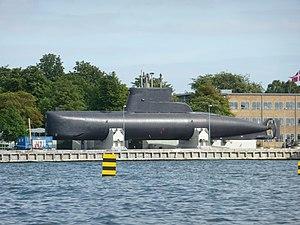 HDMS Sælen (S323) - Sælen at Holmen, Copenhagen