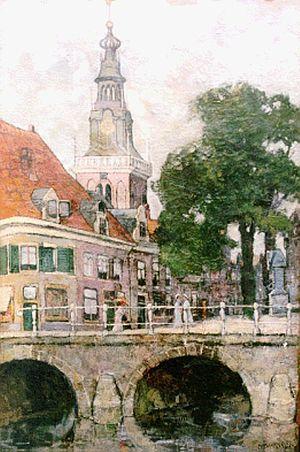 Charles Dankmeijer - Image: Dankmeijer Stadsgezicht van Alkmaar