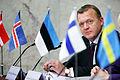 Danmarks statsminister Lars Loekke Rasmussen pa pressmote vid Nordiska radets session i Stockholm 2009 (1).jpg