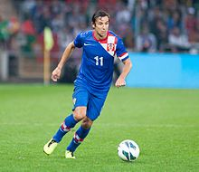Darijo Srna - Croatia vs. Portugal, 10th June 2013 (3) (crop).jpg