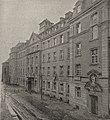 Das neue Karmelitessen-Hospital zu Düsseldorf. Die Eröffnung dieses großen, direkt am Rhein gelegenen Krankenhaus fand am 1. April 1912 statt.jpg