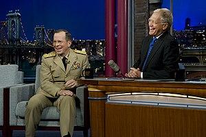 Warren Zevon - Image: Dave Letterman
