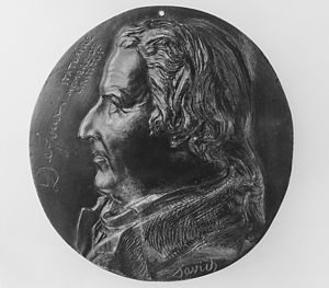 Claude Dejoux - Claude Dejoux. Medallion by David d'Angers