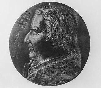 Claude Dejoux - Claude Dejoux. Medallion by David d'Angers