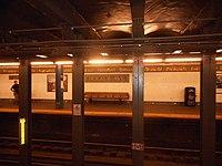 DeKalb Avenue Canarsie Mosaic across the tracks.JPG