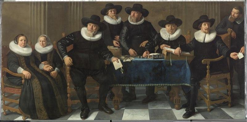 File:De regenten en regentessen van het Oude Mannen- en Vrouwengasthuis, objectnr SA 995.tif