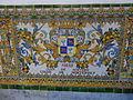 Decoració ceràmica a Capitania General de Barcelona - Juan de Acevedo.JPG