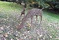Deer sculptures, Canonteign Falls, nr Exeter (31264850006).jpg